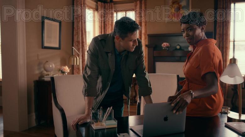 Actors Using Apple MacBook Laptop in Sweet Magnolias S01E04 Netflix Original TV Show (2)