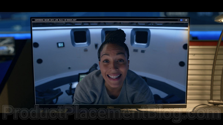 Actors Using Dell Monitors in Space Force Season 1 Episode 9 It's Good To Be Back On The Moon 2020 (3)
