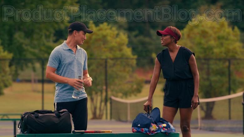Actress Heather Headley as Helen Decatur Using Adidas Bag in Sweet Magnolias S01E01 Netflix TV Show