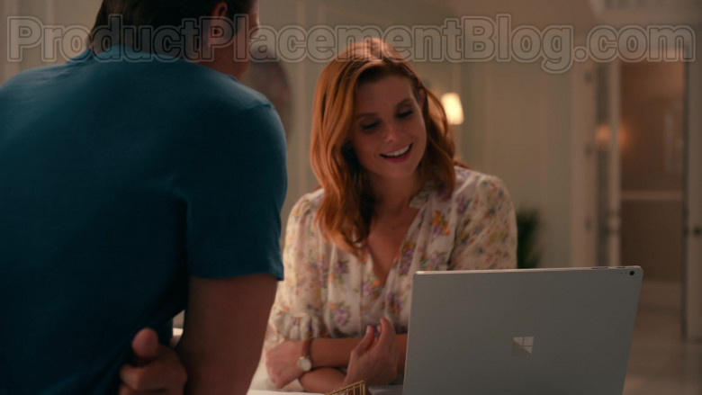 Actress JoAnna Garcia Swisher Using Microsoft Surface Laptop Used in Sweet Magnolias S01E08 TV Show by Netflix (1)