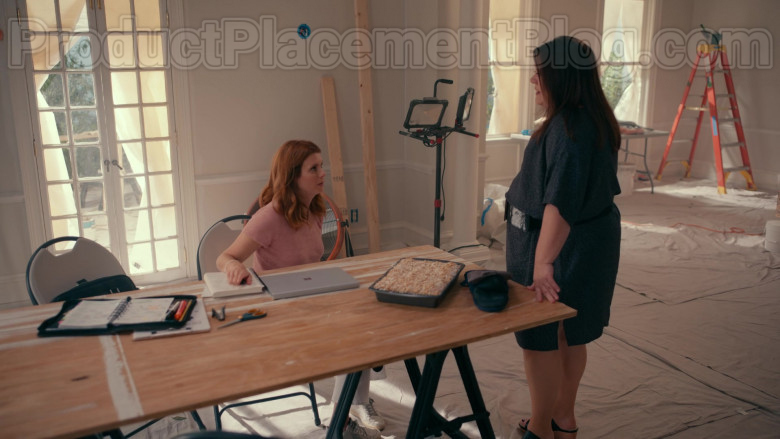 Actress JoAnna Garcia Swisher Using Microsoft Surface Laptop in Sweet Magnolias S01E03 Netflix TV Show (2)