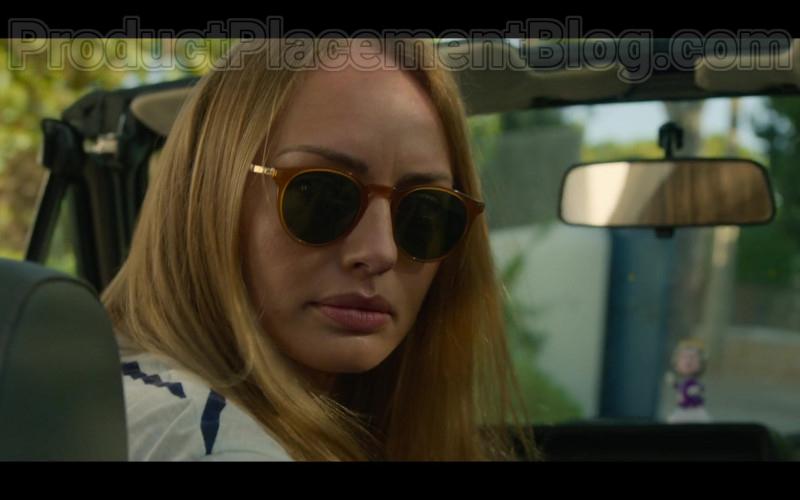 Actress Laura Haddock as Zoe Walker Wearing Mykita Sunglasses in White Lines TV Show by Netflix (1)