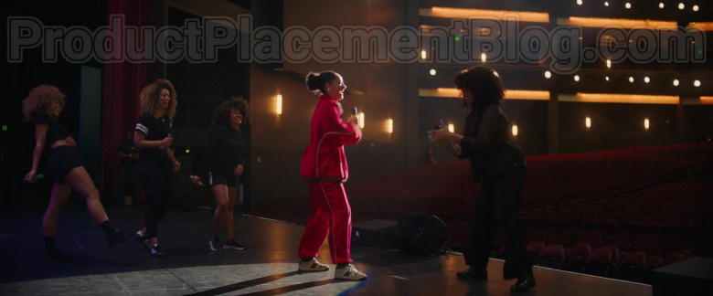 Actress Tracee Ellis Ross Wearing Gucci Sneakers Outfit in The High Note (2020) Movie