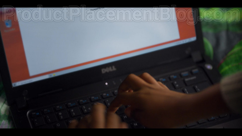Actress Using Dell Laptop in Blood & Water S01E01 Netflix TV Show (1)