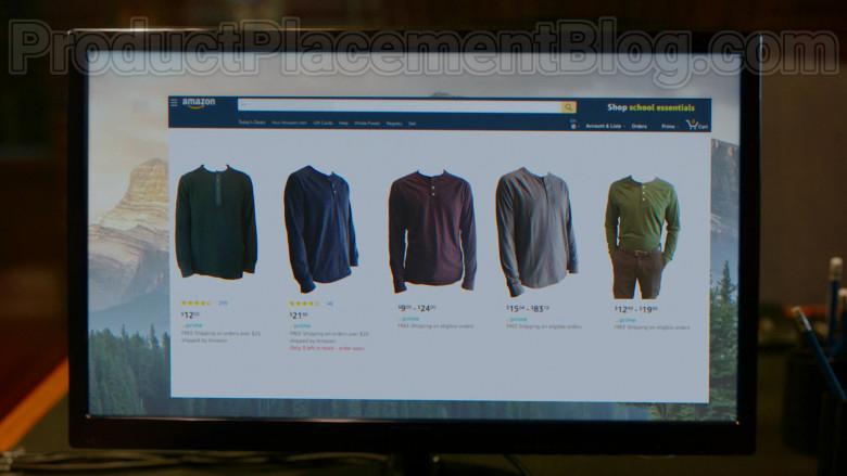 Amazon Online Store Website in Upload S01E05 The Grey Market (2020)