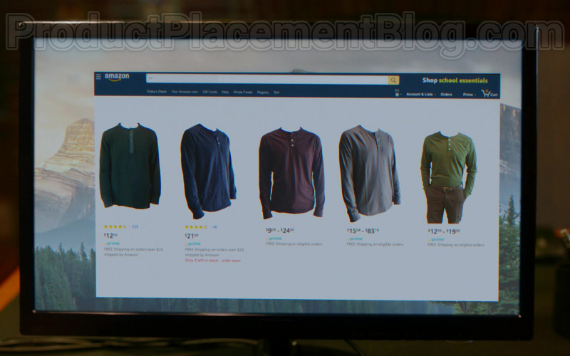 Amazon Online Store Website in Upload S01E05 The Grey Market (2020)