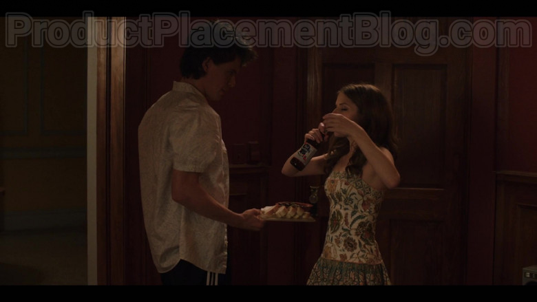 Anna Kendrick as Darby Enjoying Pabst Blue Ribbon Beer in Love Life S01E03 TV Show by HBO Max