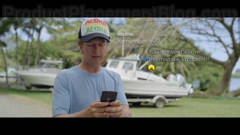 Apple iPhone Smartphone of David Spade as Tim Morris in The Wrong Missy Movie by Netflix (4)