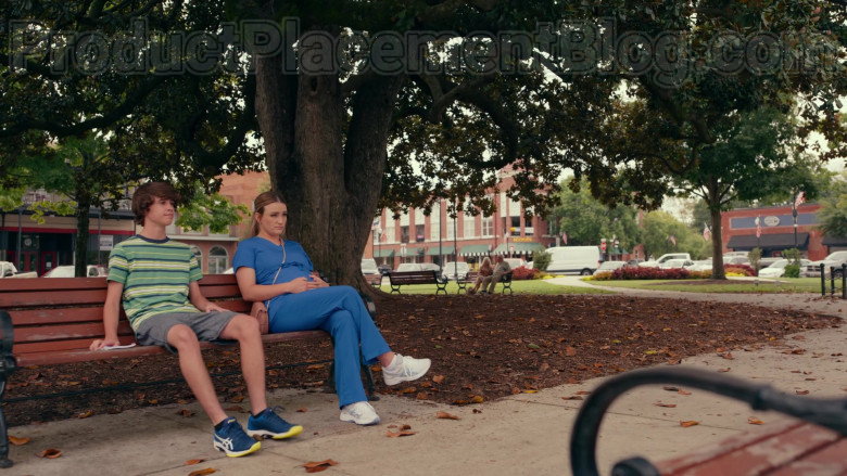 Asics Men's Solution Speed FF Tennis Shoes of Logan Allen as Kyle Townsend in Sweet Magnolias S01E03 Netflix TV Show (2)