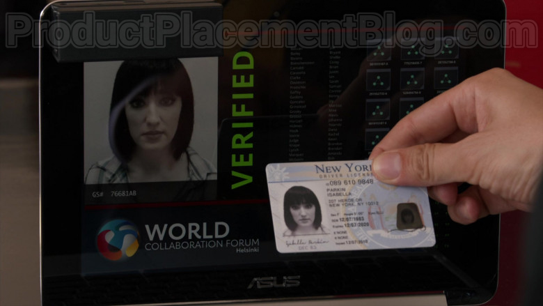 Asus Laptop in Blindspot S05E02 (2)