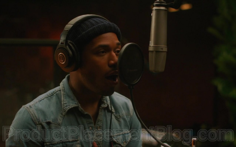 Audio-Technica Headphones of Kelvin Harrison Jr. in The High Note Movie (4)