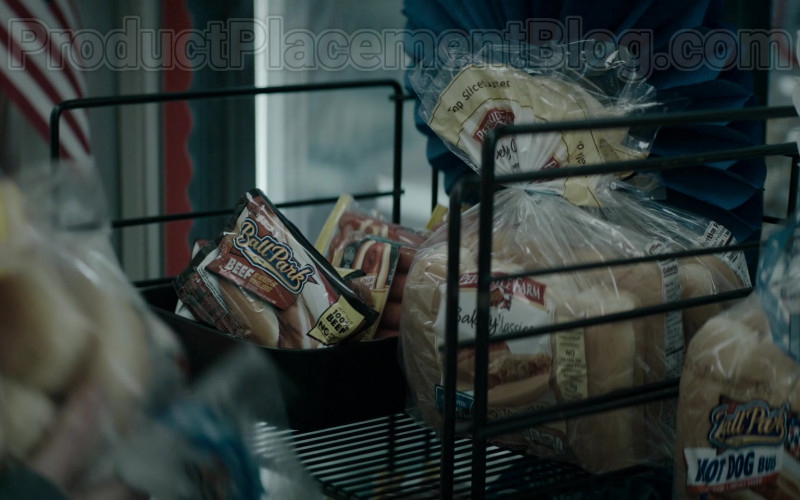 Ball Park Beef Hot Dogs and Pepperidge Farm Hot Dog Buns in Defending Jacob S01E05 (2020)