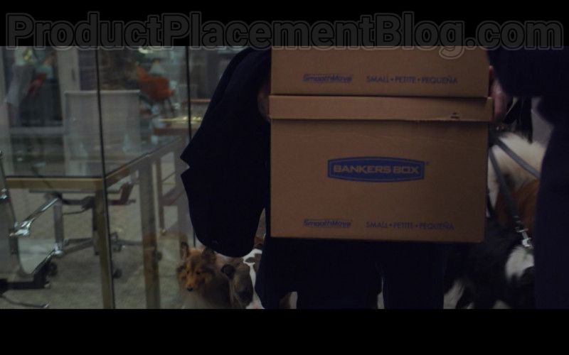 Bankers Boxes in The Good Fight S04E07 TV Show