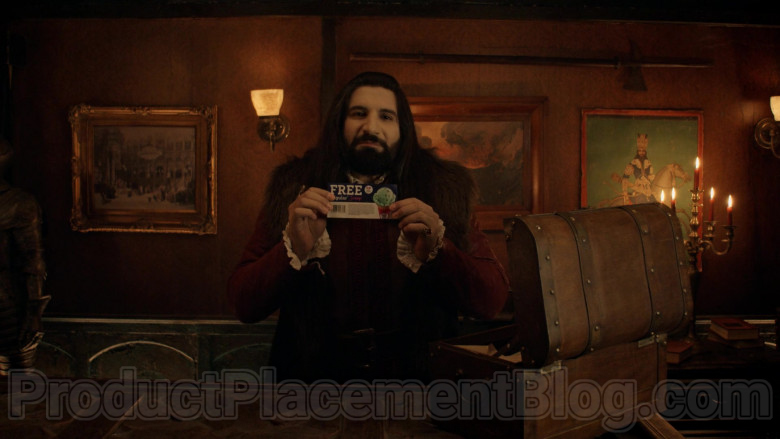 Baskin Robbins Coupon in What We Do in the Shadows S02E04 The Curse (2020)