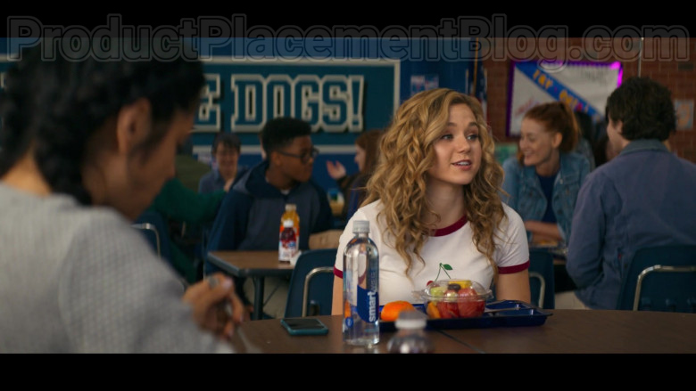 Brec Bassinger as Courtney Whitmore Enjoying Smartwater Water in Stargirl S01E01 TV Show by CW (2)