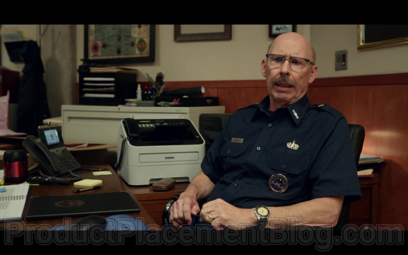 Brother Multifunction Printer in Space Force S01E04 Lunar Habitat (2)
