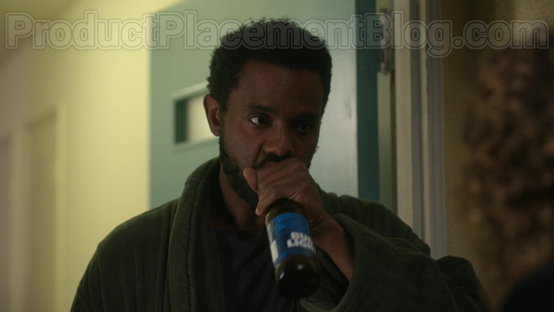 """Bud Light Beer Enjoyed by Brandon Scott as Nick Prager in Dead to Me S02E02 """"Where Have You Been"""" (2020)"""