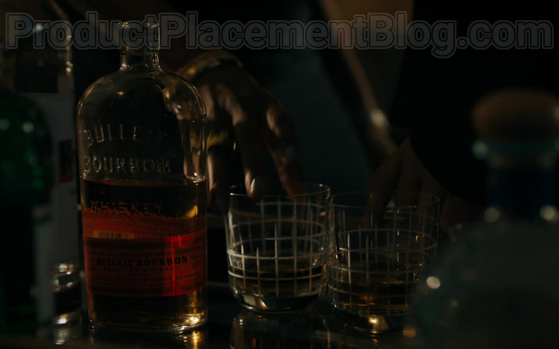 Bulleit Bourbon Whiskey Bottle in Billions S05E05 Contract (2020)