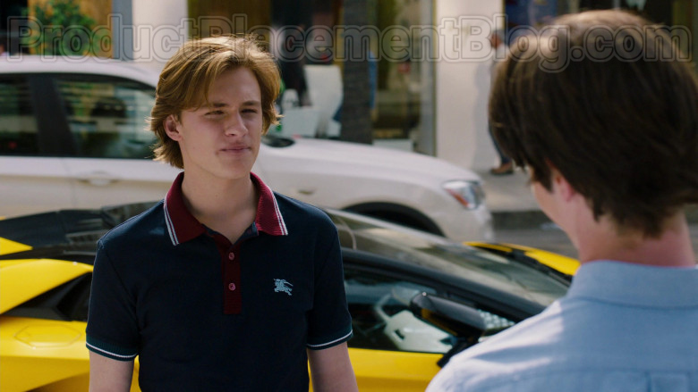 Burberry Men's Hursford Contrast-Trim Polo Shirt in American Housewife S04E19 (1)