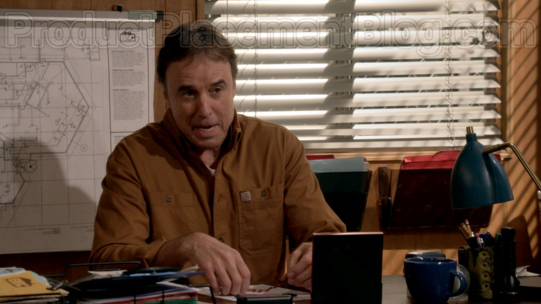 Carhartt Brown Shirt Worn by Kevin Nealon in Man with a Plan S04E11 TV Series (1)