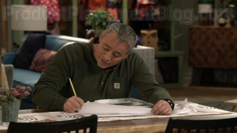 Carhartt Green Shirt Worn by Matt LeBlanc as Adam Burns in Man with a Plan S04E08 (1)