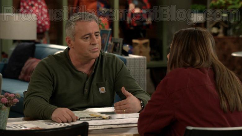 Carhartt Green Shirt Worn by Matt LeBlanc as Adam Burns in Man with a Plan S04E08 (2)