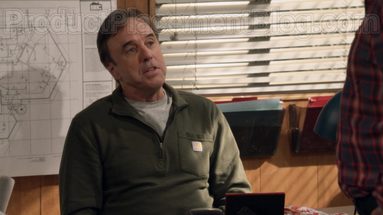 Carhartt Green Shirt of Kevin Nealon as Don Burns in Man with a Plan S04E07 (1)