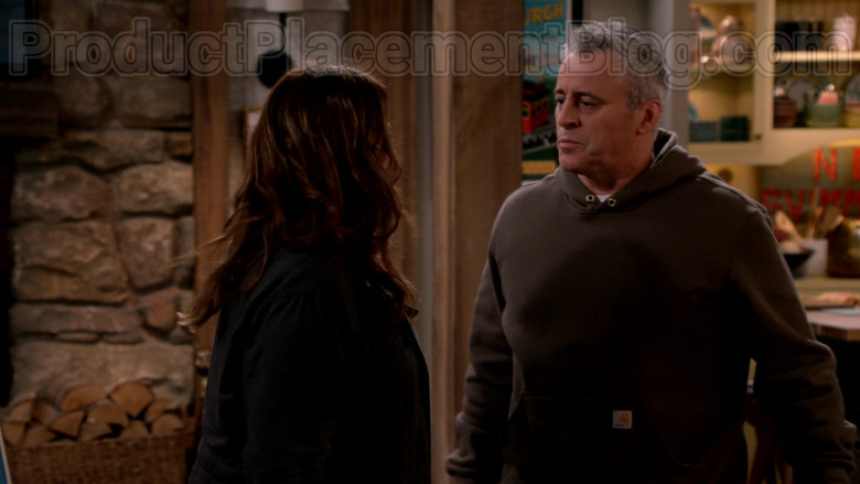 Carhartt Hoodie Outfit Worn by Matt LeBlanc in Man with a Plan S04E11 TV Show (2)