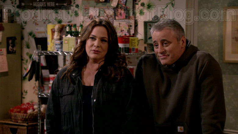 Carhartt Hoodie Outfit Worn by Matt LeBlanc in Man with a Plan S04E11 TV Show (4)