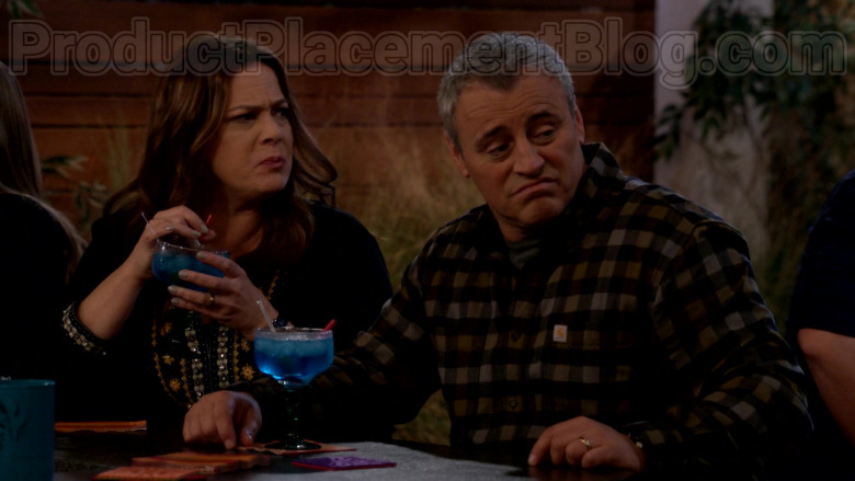 Carhartt Long Sleeve Flannel Shirt Casual Outfit Worn by Matt LeBlanc in Man with a Plan S04E11 TV Series (4)