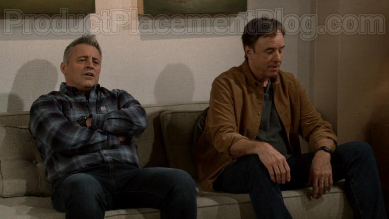 Carhartt Long Sleeve Shirt Worn by Matt LeBlanc as Adam Burns in Man with a Plan S04E08 TV Series (1)