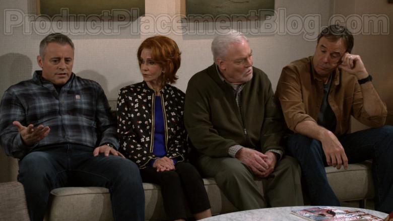 Carhartt Long Sleeve Shirt Worn by Matt LeBlanc as Adam Burns in Man with a Plan S04E08 TV Series (3)