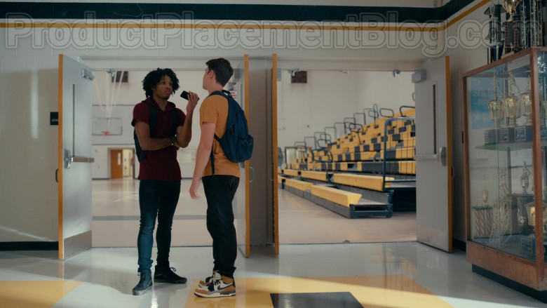 Carson Rowland as Ty Wearing Air Jordan Legacy 312 'Rookie of the Year' Sneakers in Sweet Magnolias S01E06 TV Show
