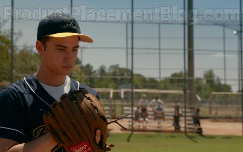 Carson Rowland as Tyler 'Ty' Townsend Wearing Rawlings Glove in Sweet Magnolias S01E03 TV Show by Netflix (1)