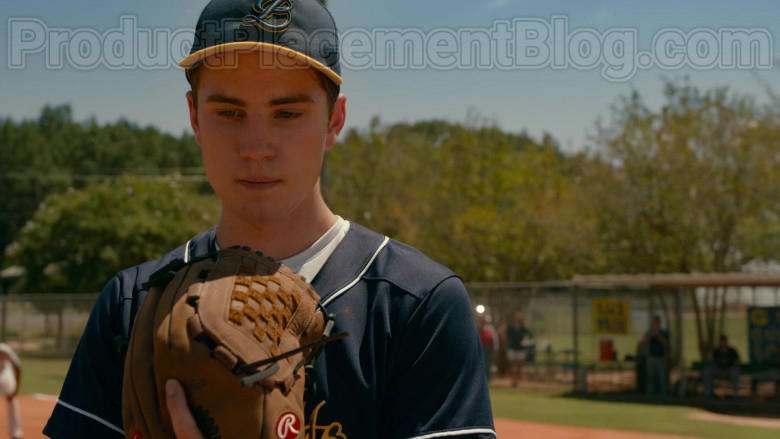 Carson Rowland as Tyler 'Ty' Townsend Wearing Rawlings Glove in Sweet Magnolias S01E03 TV Show by Netflix (2)