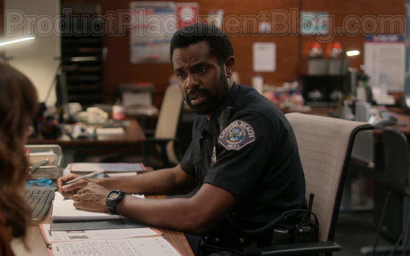 Casio G-Shock Watch of Brandon Scott as Nick Prager in Dead to Me Netflix's TV Show
