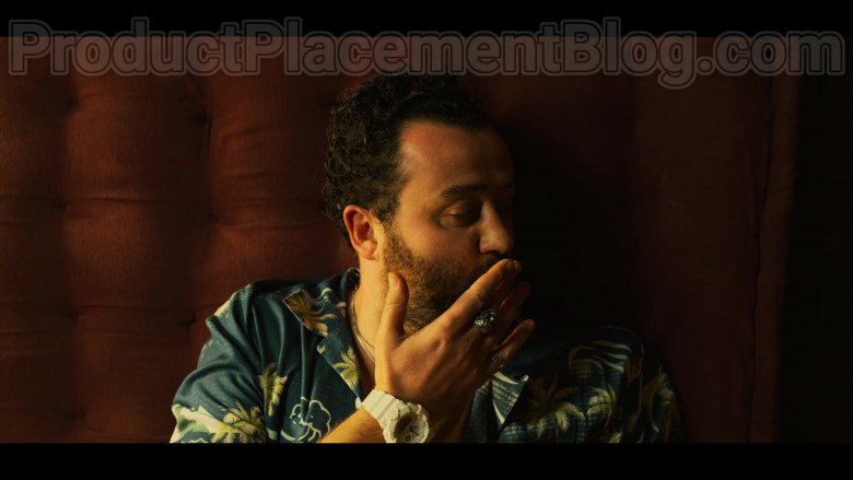 Casio G-Shock White Wrist Watch of Actor Daniel Mays in White Lines S01E06 (2)