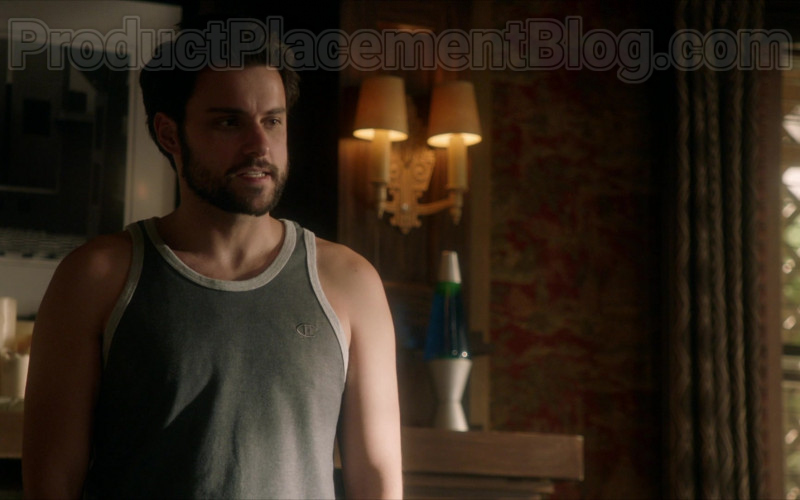 Champion T-Shirt of Jack Falahee as Connor Walsh in How to Get Away with Murder S06E15 Stay (2020)
