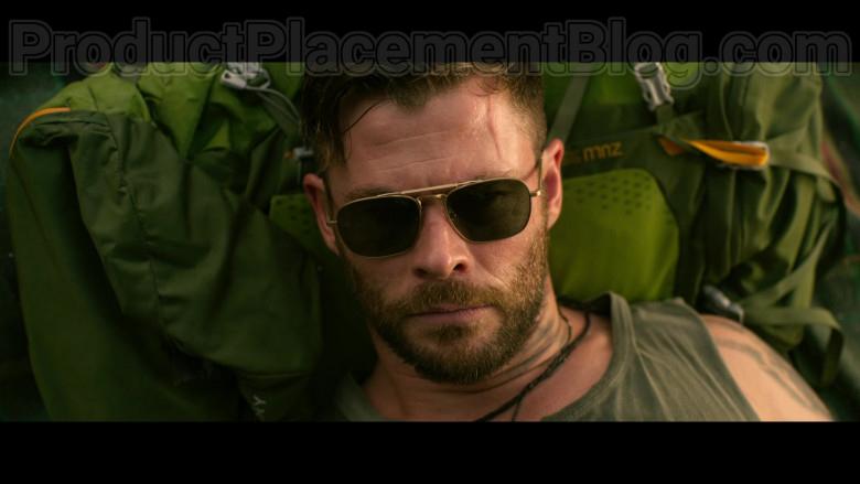 Chris Hemsworth as Tyler Rake Wearing Matsuda M3040 Sunglasses in Extraction 2020 Movie by Netflix (1)