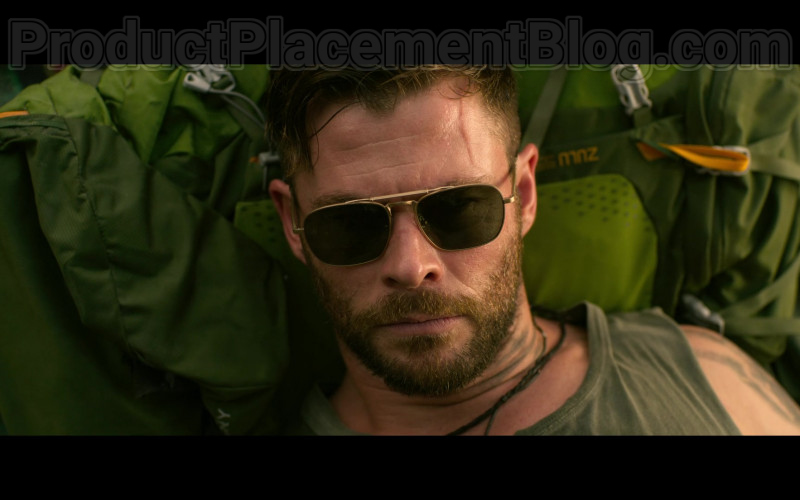 Chris Hemsworth as Tyler Rake Wearing Matsuda M3040 Sunglasses in Extraction 2020 Movie by Netflix (1)
