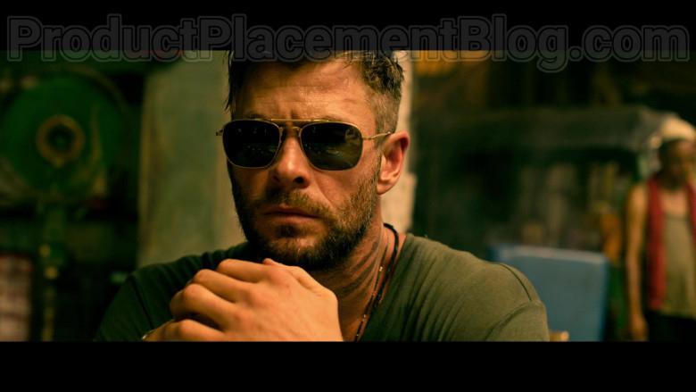 Chris Hemsworth as Tyler Rake Wearing Matsuda M3040 Sunglasses in Extraction 2020 Movie by Netflix (3)