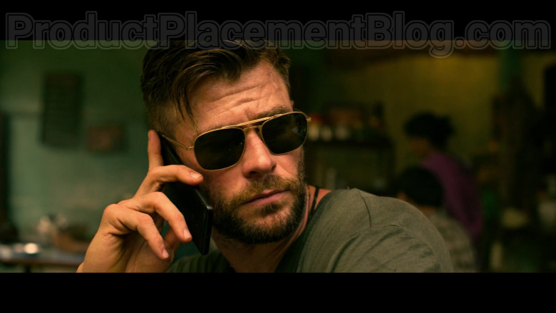 Chris Hemsworth as Tyler Rake Wearing Matsuda M3040 Sunglasses in Extraction 2020 Movie by Netflix (4)