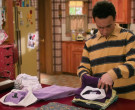 Club Monaco Purple Shirt in The Goldbergs S07E23 Pretty in ...