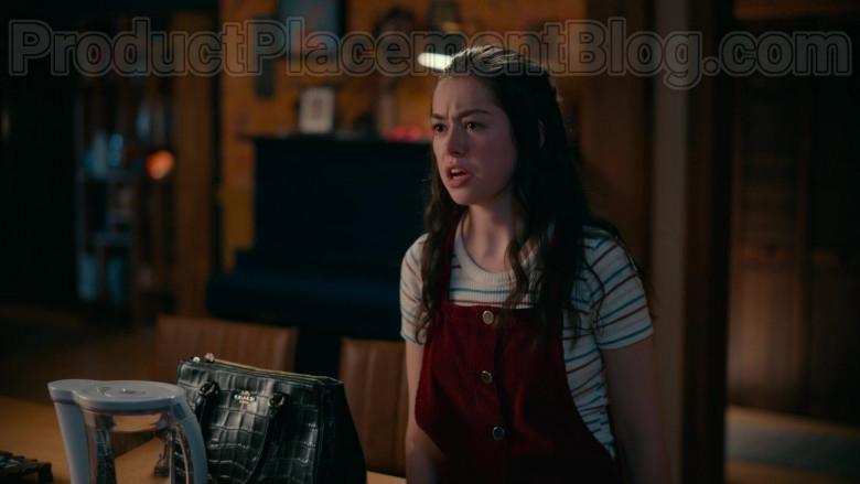 Coach Leather Satchel of Brooke Elliott as Dana Sue Sullivan in Sweet Magnolias S01E07 Netflix TV Show (2)