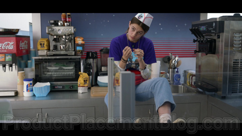 Coca-Cola, Fanta, Sprite, Westrock Coffee, First Street Coffee & Kraft Jet-Puffed Marshmallows in Space Force S01E06 TV