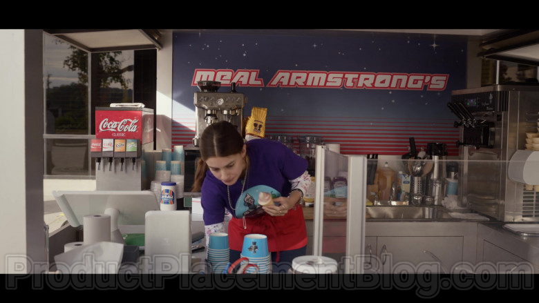 Coca-Cola, Kraft Jet-Puffed Marshmallows & Westrock Coffee in Space Force S01E07 Edison Jaymes (2020)