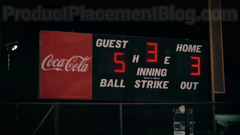 Coca-Cola Logo Scoreboard in Sweet Magnolias S01E02 A United Front (2020)