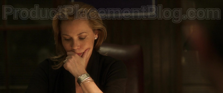 Connie Nielsen as Catherine Monroe Wearing Cartier Women's Watch in Inheritance Movie (1)