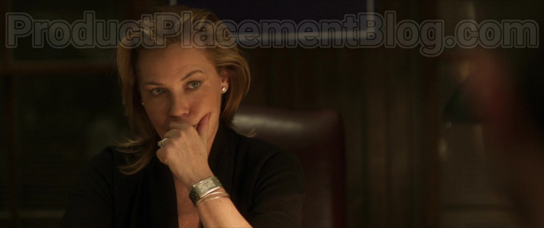 Connie Nielsen as Catherine Monroe Wearing Cartier Women's Watch in Inheritance Movie (2)