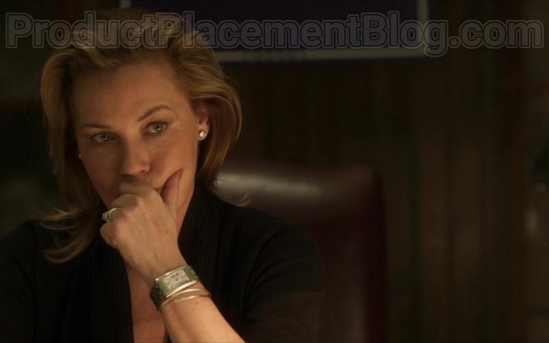 Connie Nielsen as Catherine Monroe Wearing Cartier Women's Watch in Inheritance Movie (2)